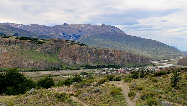 El Chalten - the end of Cerro Torre Hike