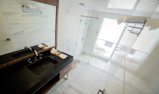 Elite Golden Suite restroom