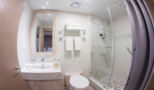 Endemic Golden Suites Restroom