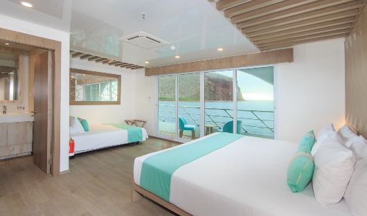 Endemic Suite with Sofa Bed