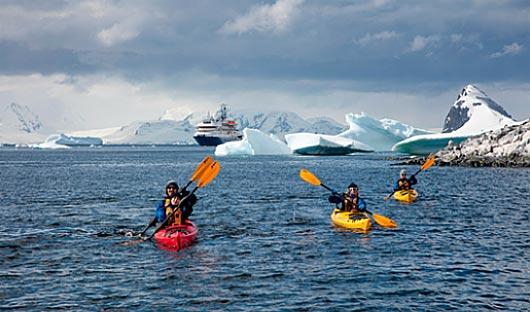 Kayaking Antarctica Cruise