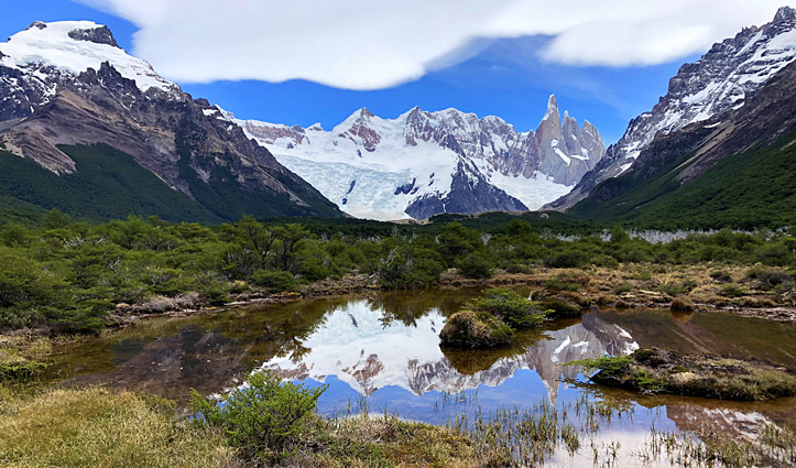 Reflections of Cerro Torre