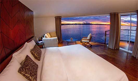 Zafiro Suite and balcony