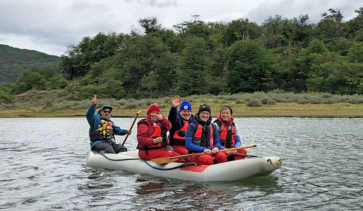 Canoe Ride, Tierra del Fuego Ushuaia
