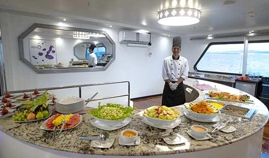 Chef Camila Galapagos Cruise