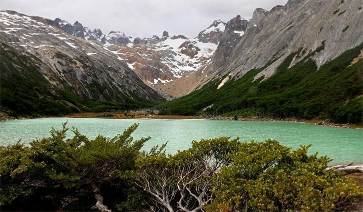 Lake Esmeralda, Hiking in Ushuaia