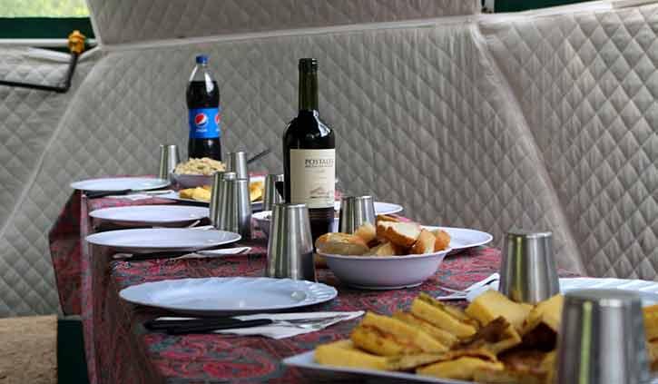 Lunch, Tierra del Fuego, Ushuaia