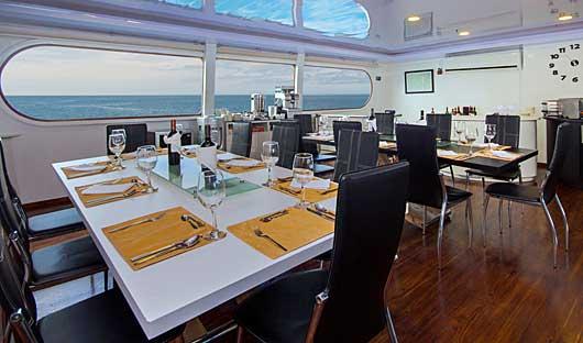 MC Petrel Dining area