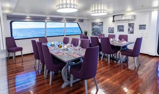 MT Camila Dining area