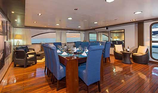 Ocean Spray Dining area