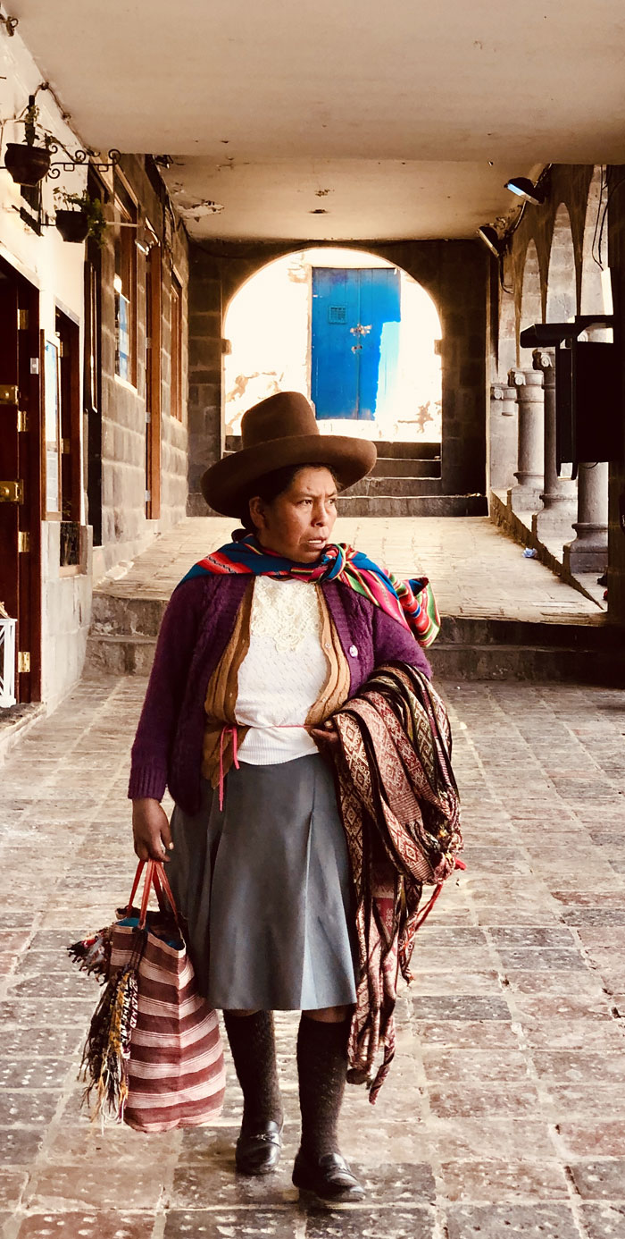 Peruvian Lady by Sharon Modica