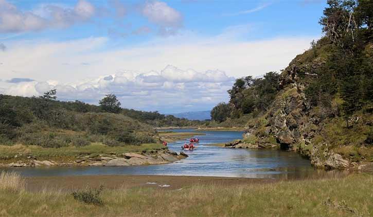 Ushuaia Canoeing, Day tours