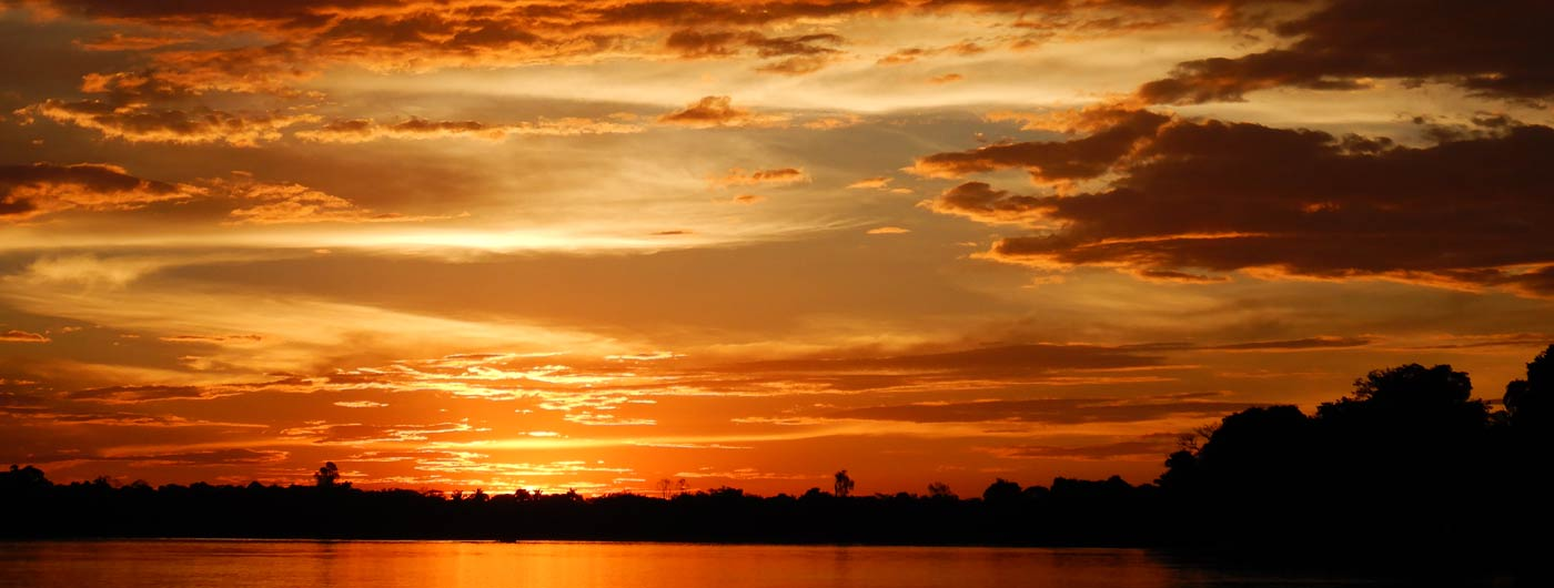 Sunset Brazil Amazon