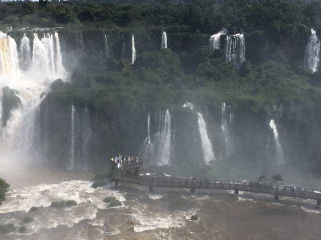 Iguazu Falls by Rosemary Clark