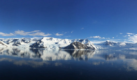 Antarctica with Sunny Skies, Anne-Lise Georges