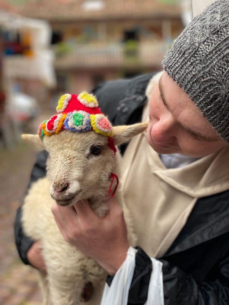 Meeting the Peruvian Locals by Jane Keenan